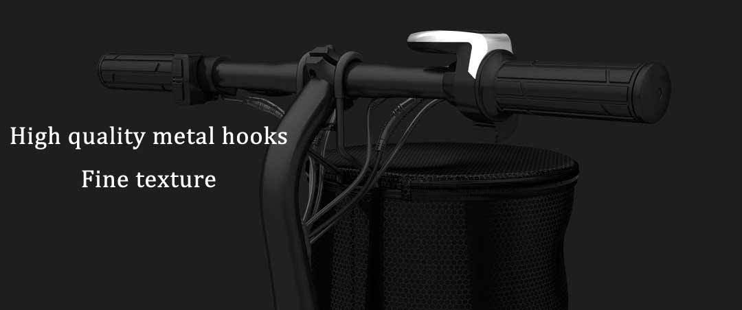 HIMO 12L Waterproof Storage Basket Bike Bag Supplies For Xiaomi Electric Scooter HIMO C20 V1 Series Universal Storage Basket From Xiaomi Youpin