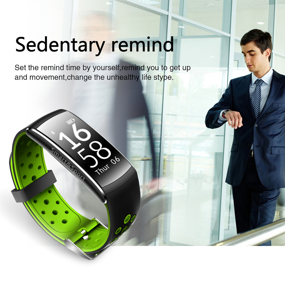 S11 0.96inch Heart Rate Monitor Pedometer bluetooth Smart Bracelet For iphone Samsung Xiaomi