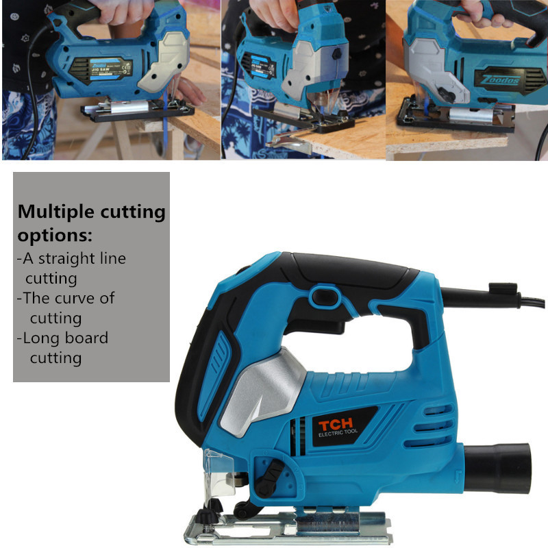 Raitool™ 650W Multifunctional Cutting MachineReciprocating Saws Electric Curve Saw Woodworking Tools