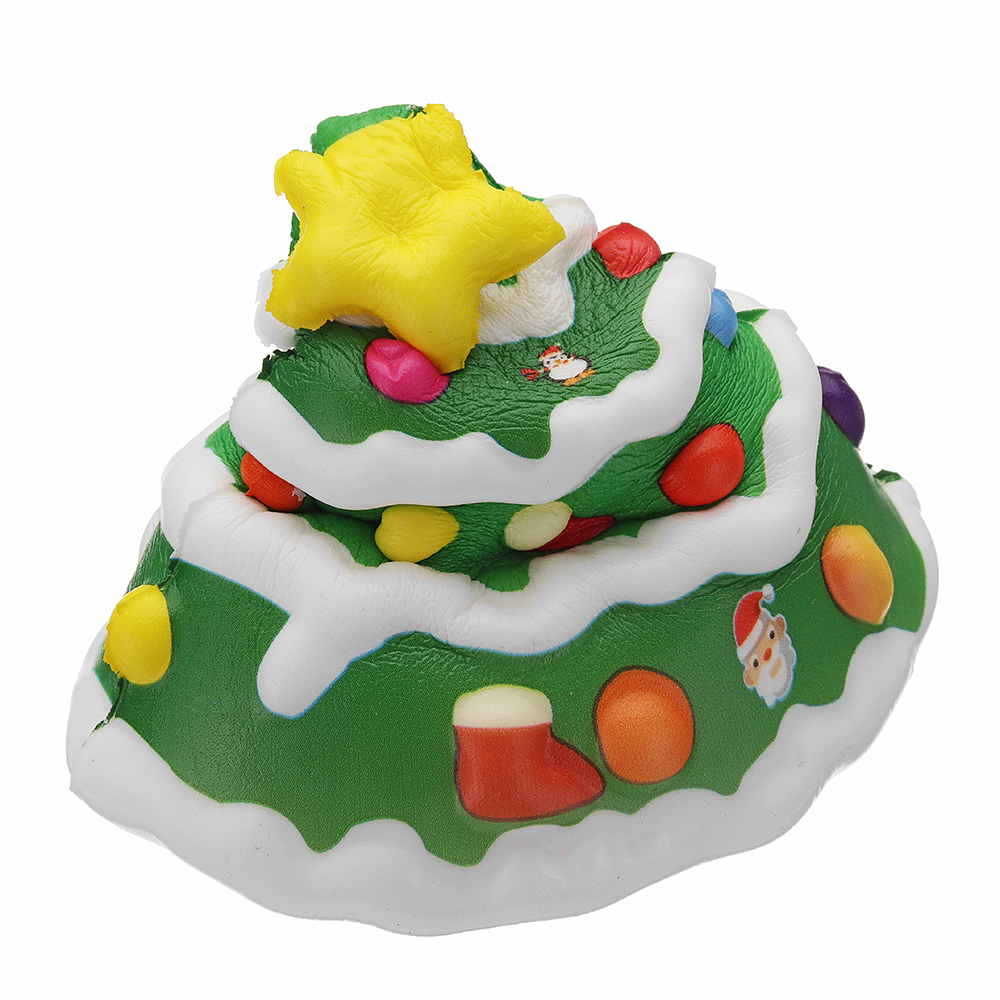 Cooland Christmas Tree Squishy 10.2×14.6×7.2CM Soft Slow Rising With Packaging Collection Gift Toy
