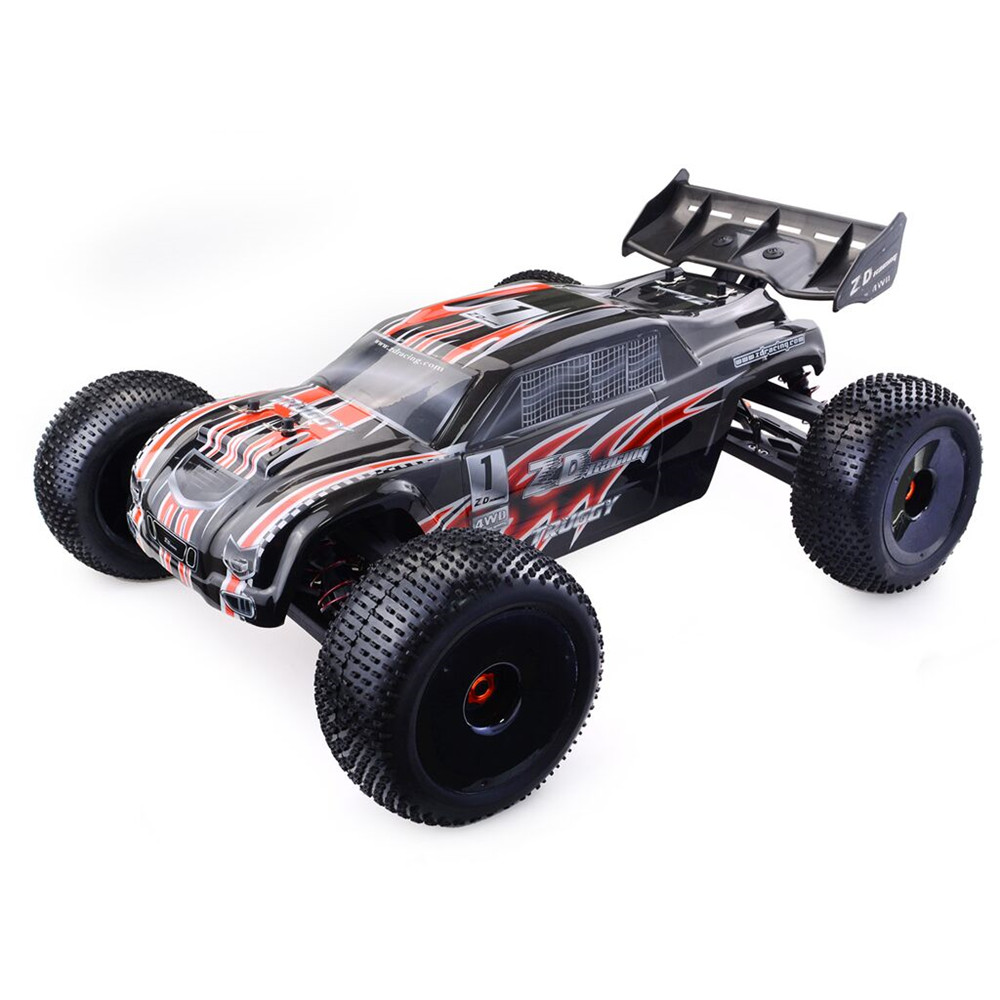 ZD Racing 9021-V3 1/8 110km/h 4WD Brushless Truggy Frame DIY Rc Car KIT Without Electronic Parts