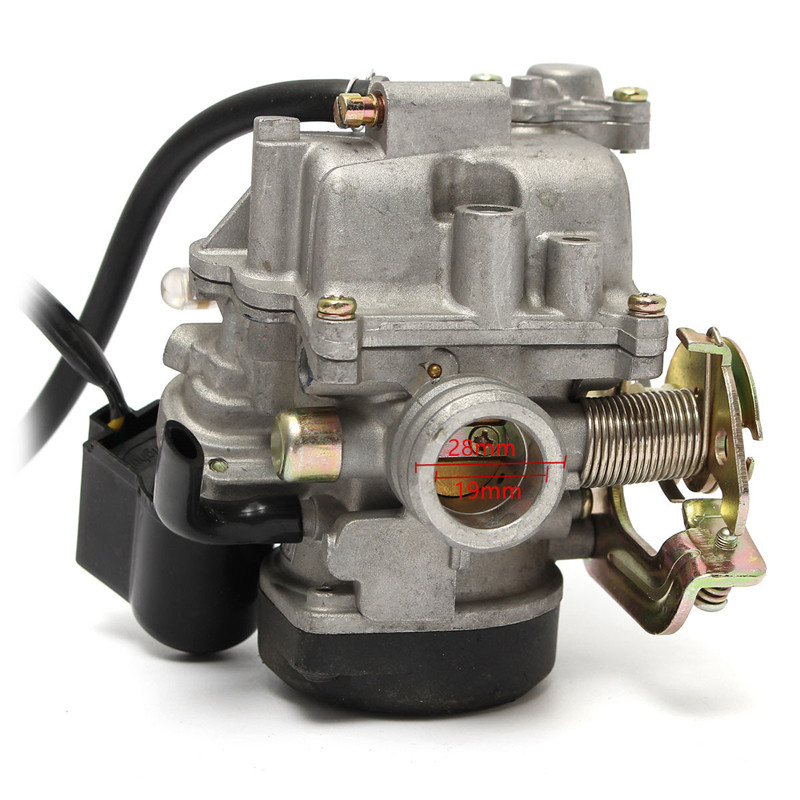 Carb Gy6 60cc PD19J Carburetor Moped 19mm for 50 49 Scooter Motorcycle