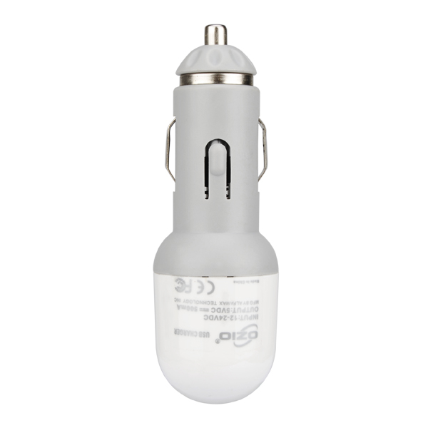 C10-1 5V 500mA USB Car Charger for iPhone iPAD HTC LG SONY MP3 MP4