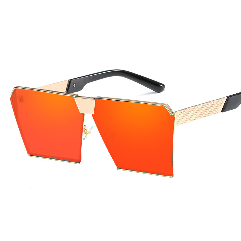 Retro Square Frame Sunglasses Goggle Driving Glasses