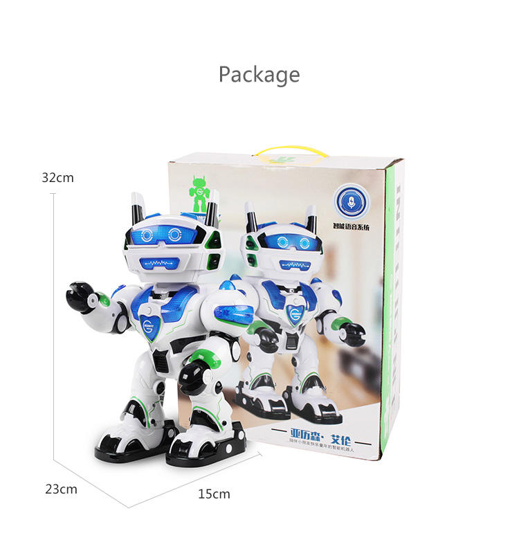 Electric Intelligent Dancing Singing Voice Interaction RC Robot