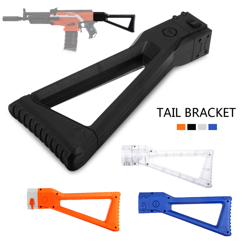 Worker Mod ABS AK Multi-Color Tail Shoulder Stock For Nerf N-Strike Elite Retaliator Modify Toy