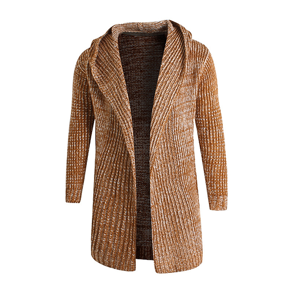 Mens Classic Design Simple Fashion Puzzles Cardigan Sweater Thick Warm Sweater