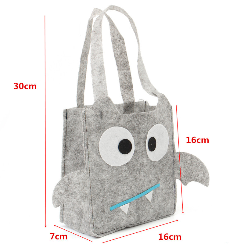 Halloween Party Decoration Supply Cute Gray Hand Candy Bag Costume Party Fancy Prop Toys