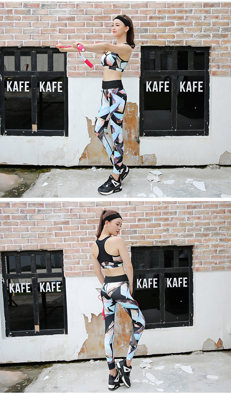 Women Digital Printed Leggings High Elasticity Sport Yoga Pencil Pants Casual Leggings