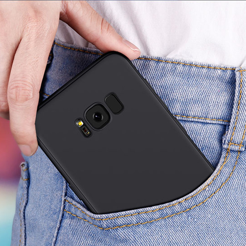 Bakeey Protective Case For Samsung Galaxy S9 S9 Plus S8 S8 Plus S7 S7 Edge Micro Matte Anti Fingerprint Resistant Soft TPU Back Cover