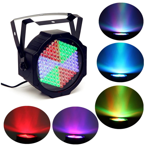 25W 127 LED Full Color RGB Color Stage Par Light Bar KTV Chrimstmas