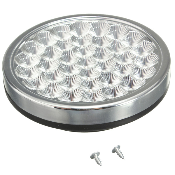 12V 37 LED Interior Dome Roof Light For Car Van Taxi Truck