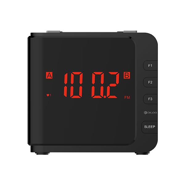 [2019 Third Digoo Carnival] Digoo DG-C2 Home Comfort Indoor Digital Blue Backlit LCD Thermometer Desk Alarm Clock 2 Alarm Setting Modes