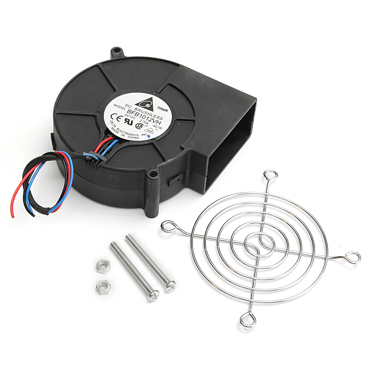 DC 12V Air Blower BBQ Cooking Cooling Fan Blower Fan For Barbecue Stove