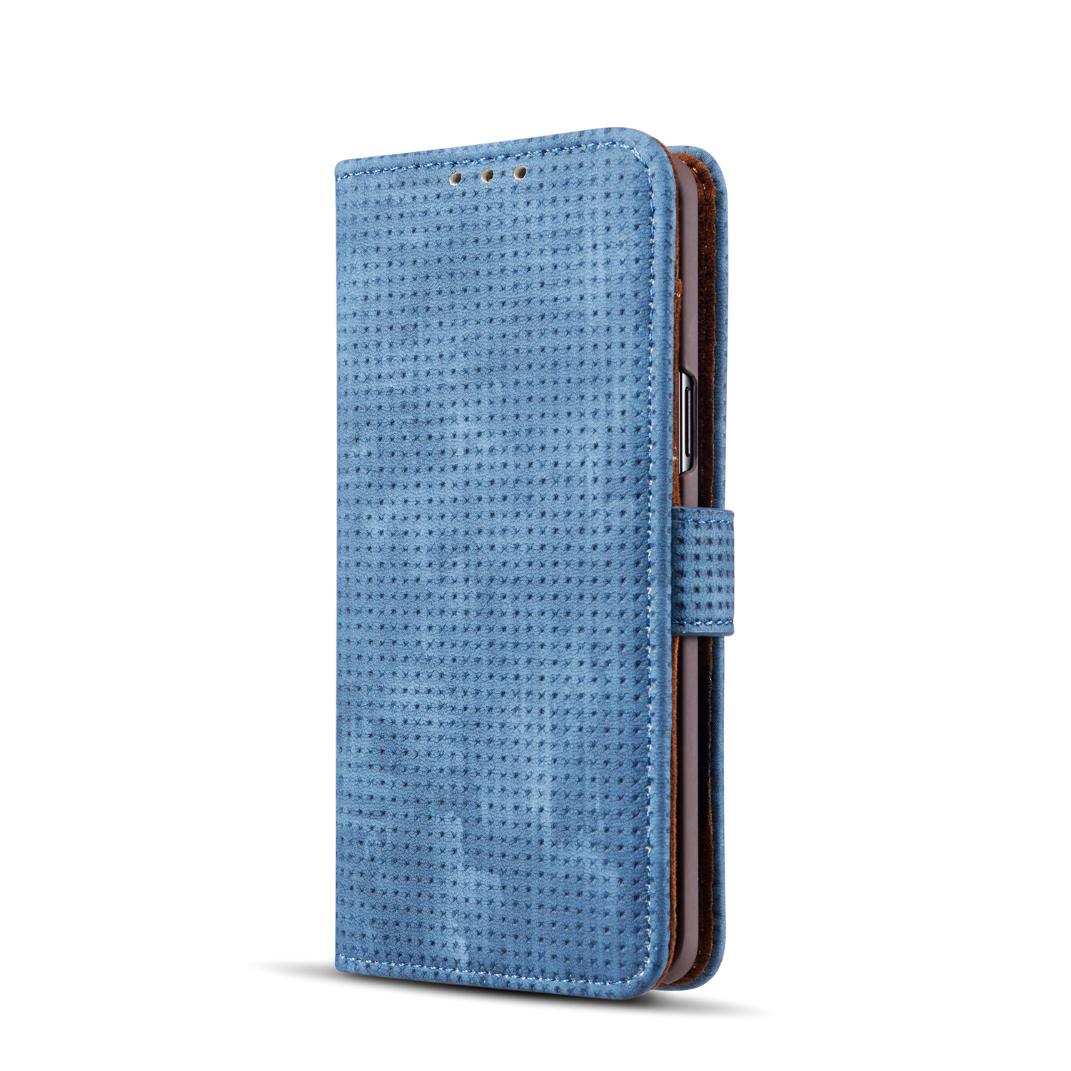 Mesh Heat Dissipation Wallet Kickstand Protective Case For Samsung Galaxy S9/S9 Plus