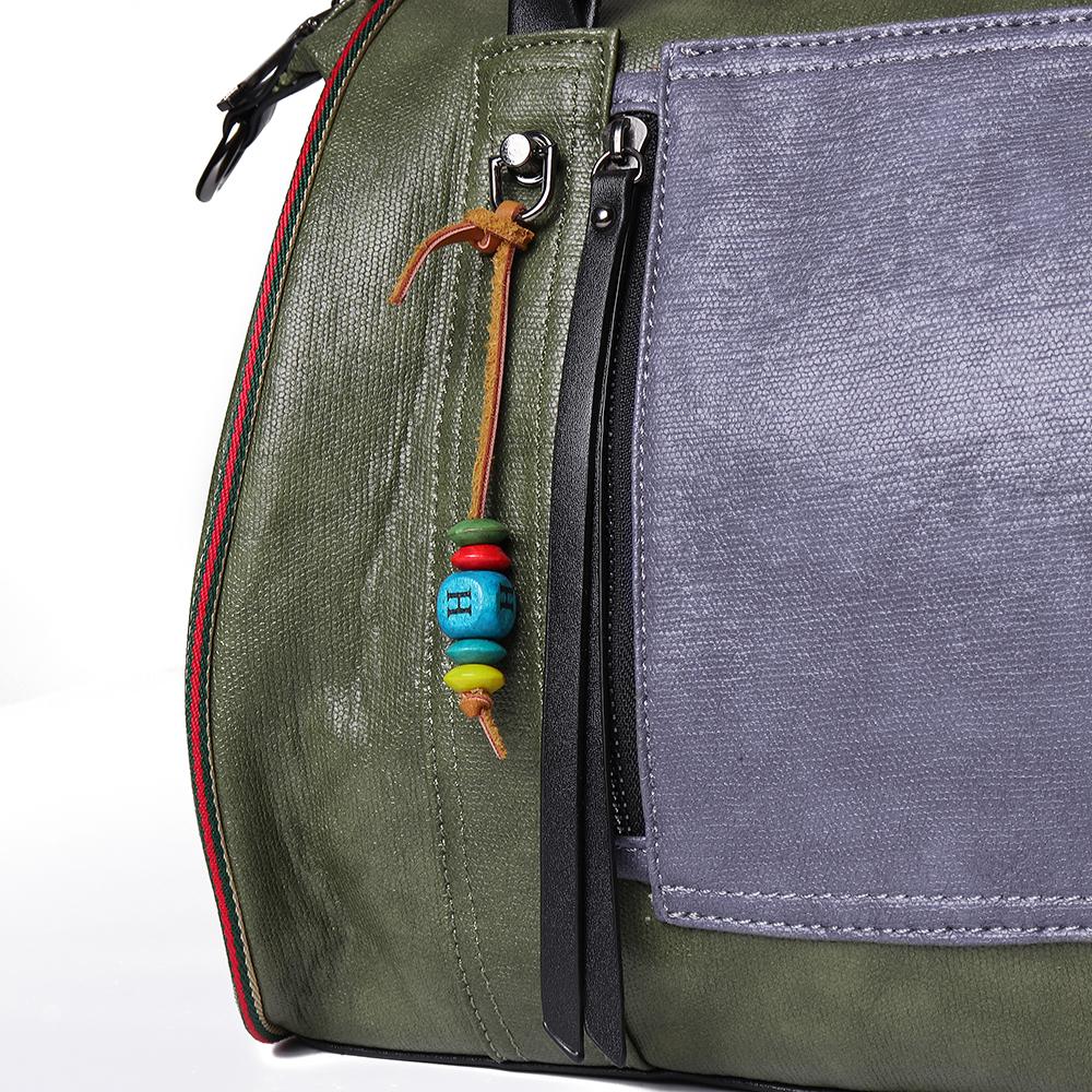 Brenice Faux Leather Large Capacity Tote Bag Handbag