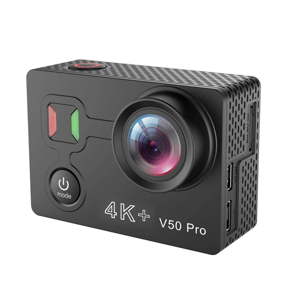 Camera Hành Trình Eken V50 Pro Ambarella A12 4K + Wifi Sport Dv 14Mp Ảnh Rộng 170 Độ