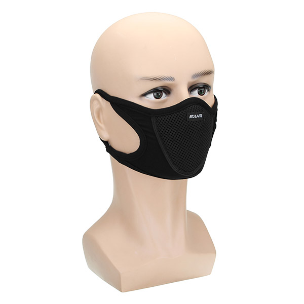Half Face Mask Winter Anti Haze Anti Fog Antibacterial For Motorcycle Cycling Skiing