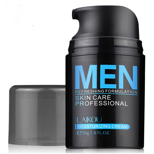 LAIKOU Men Face Cream Refreshing Formulation Anti-Age Oil Control Moisturizing Hydrating Skin Care