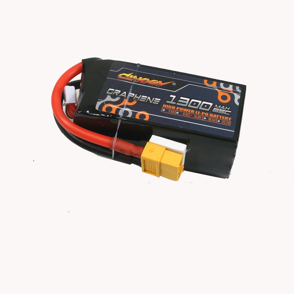 Giant Power Dinogy 14.8V 1300mAh 65C 4S Graphene Lipo Battery With XT60 Plug For RC Drone