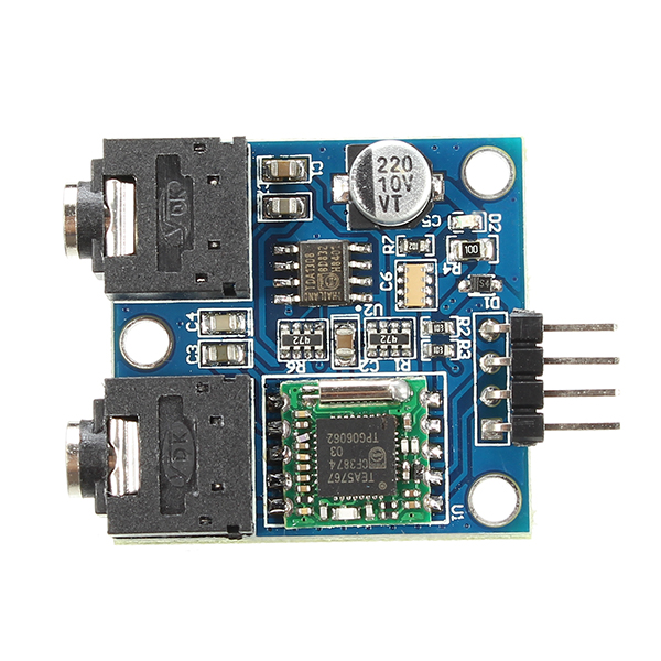 TEA5767 FM Stereo Radio Module 76-108MHZ For Arduino With Antenna
