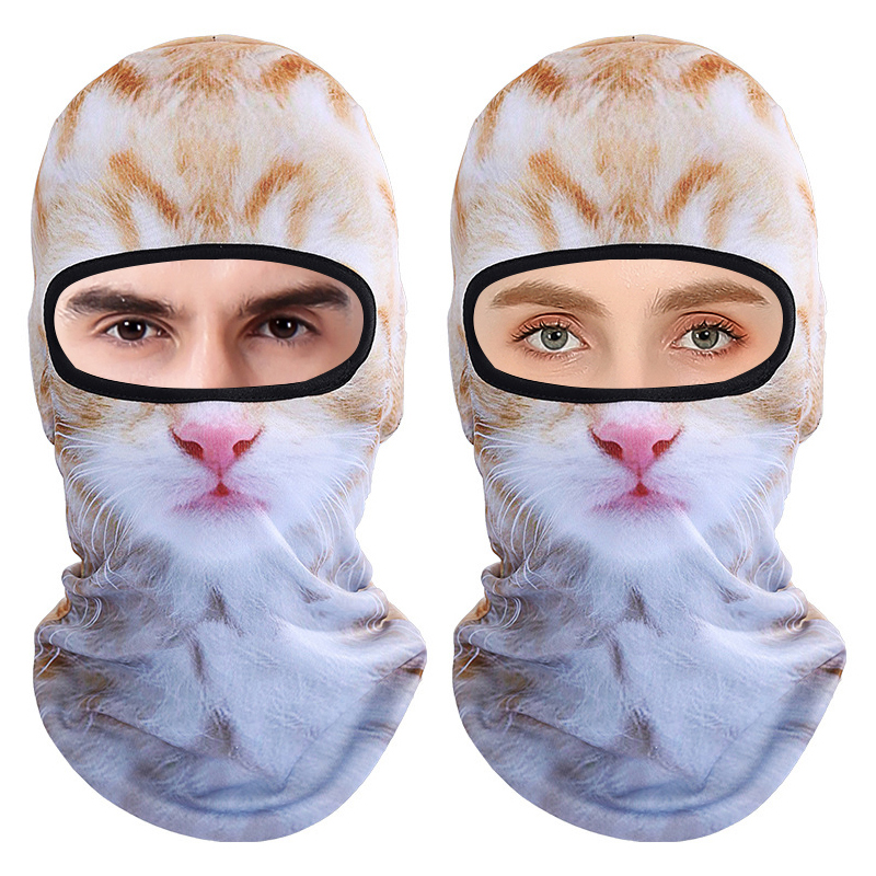 3D Animal Breathable Bicycle Ski Full Face Mask Hats