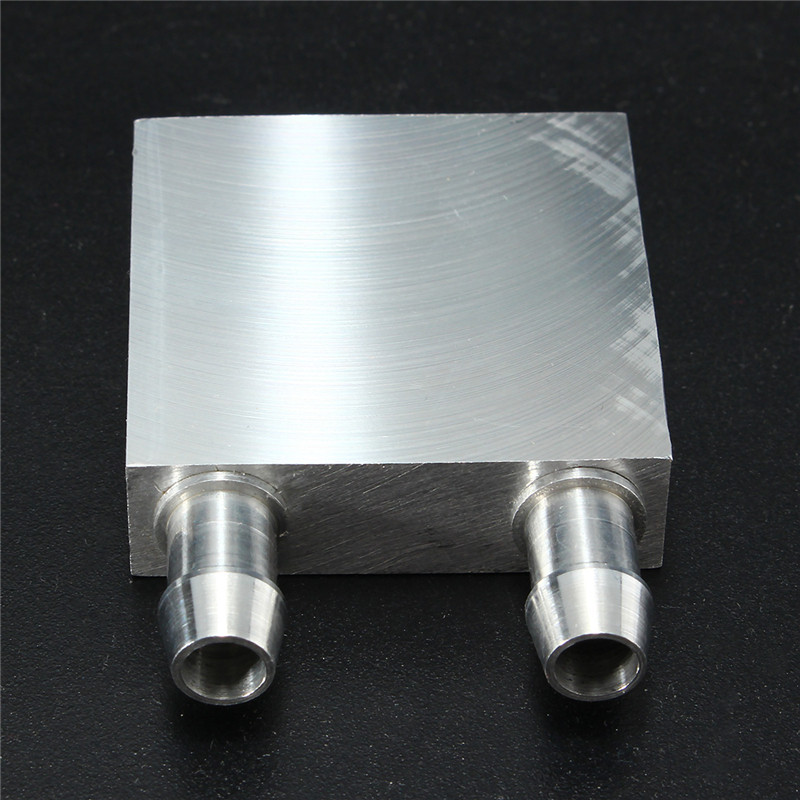 40x40x12mm Aluminum Water Cooling Block For CPU Graphics Radiator Heatsink