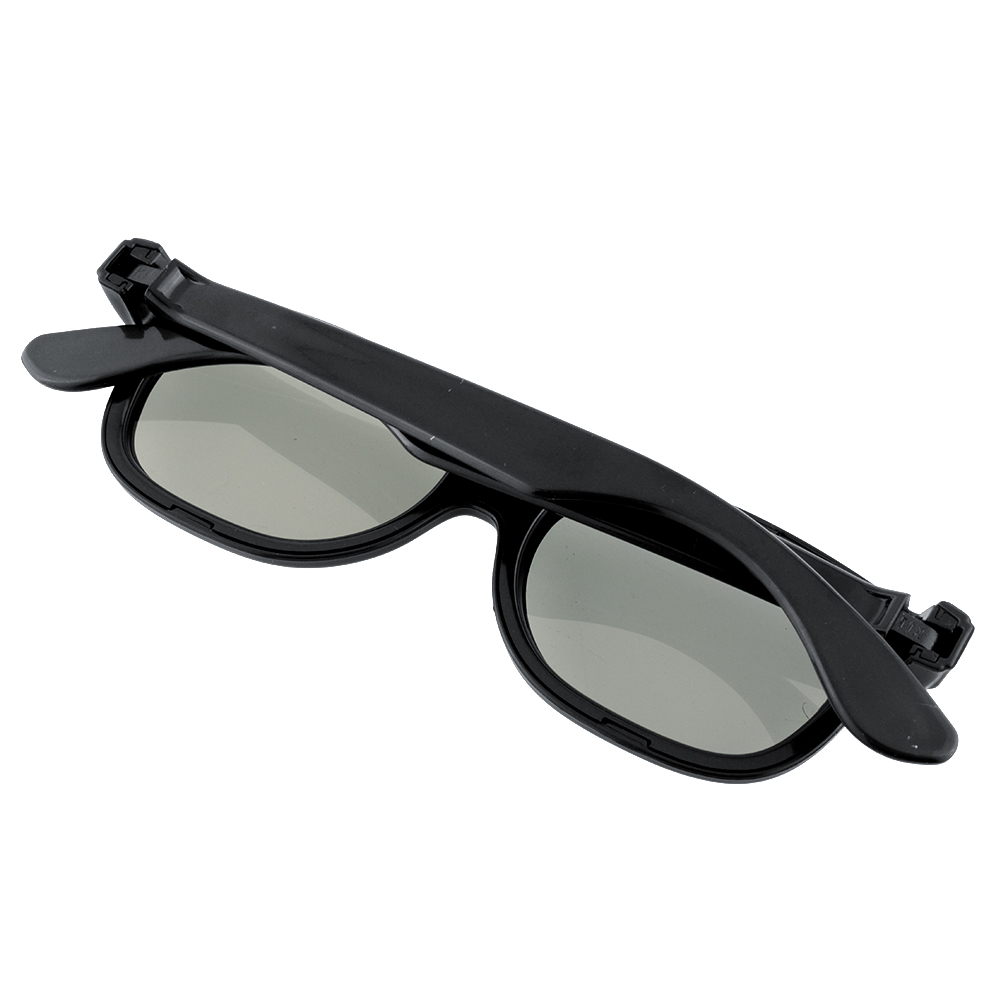 10pcs Black Round Polarized 3D Glasses for DVD LCD Video Game Theatre TV Theatre Movie