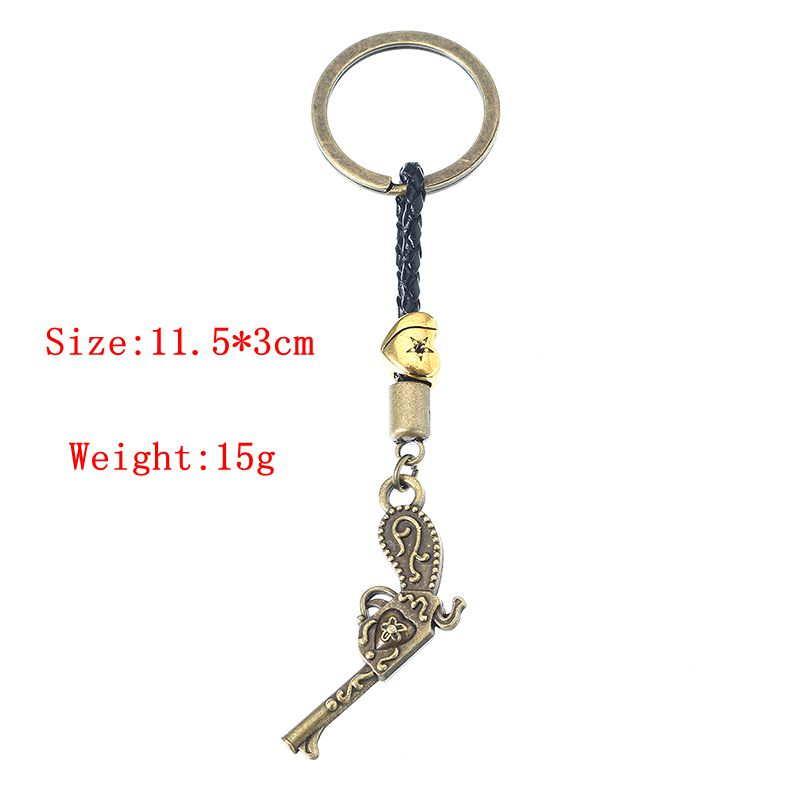Suicide Spuad Keychain Bullet and Gun Pendant Keyring Gift