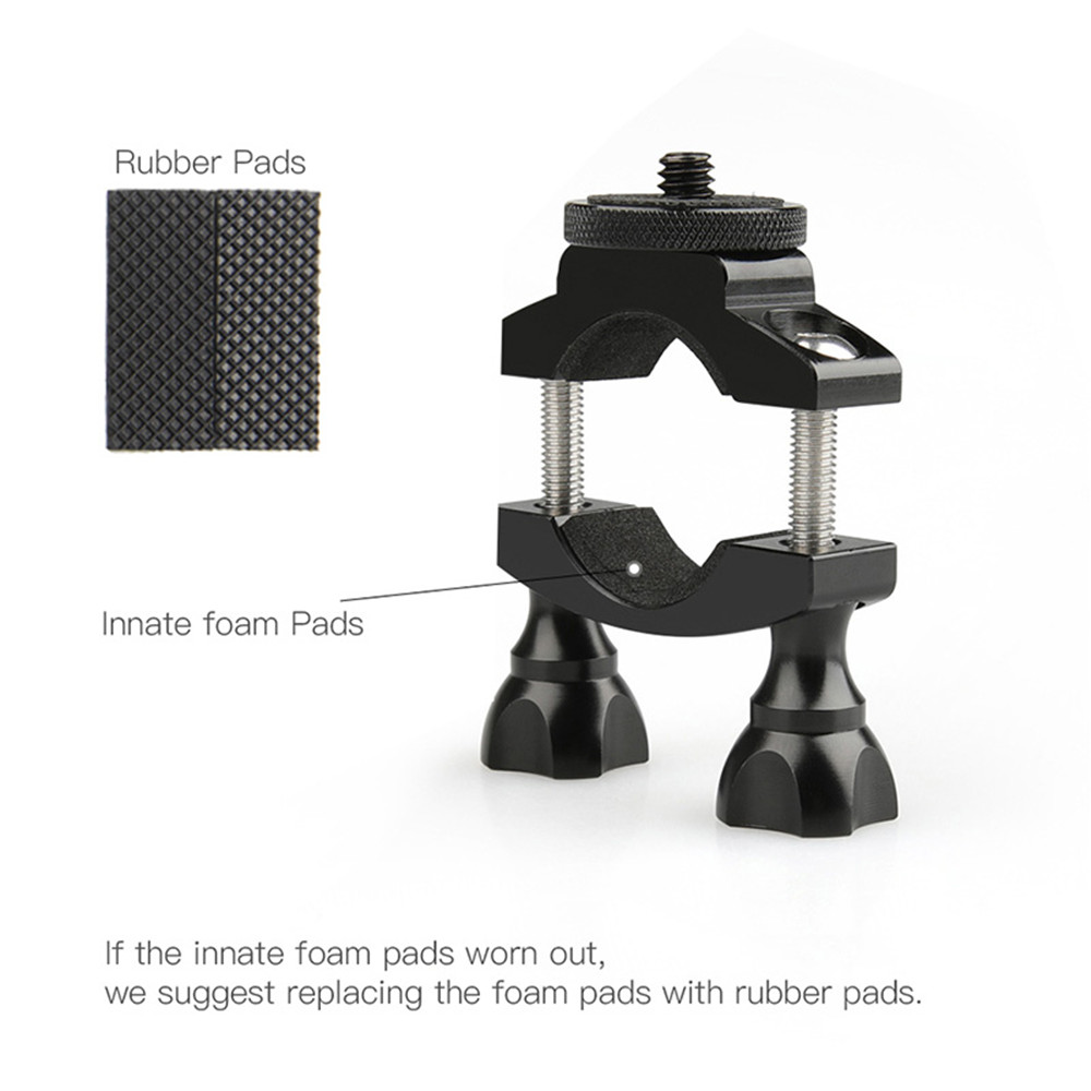 Bike Bicycle Bracket Damping Shock Absorber Mount Fixed Clip Tripod for OSMO Action Gopro Hero Camera Accessories - Photo: 7