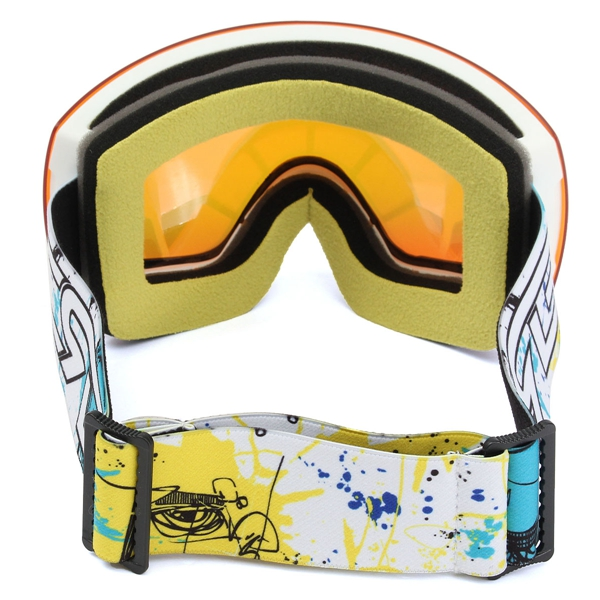 Winter Unisex Anti Fog Dual Len Motor Bike Racing Outdooors Snowboard Ski Goggles