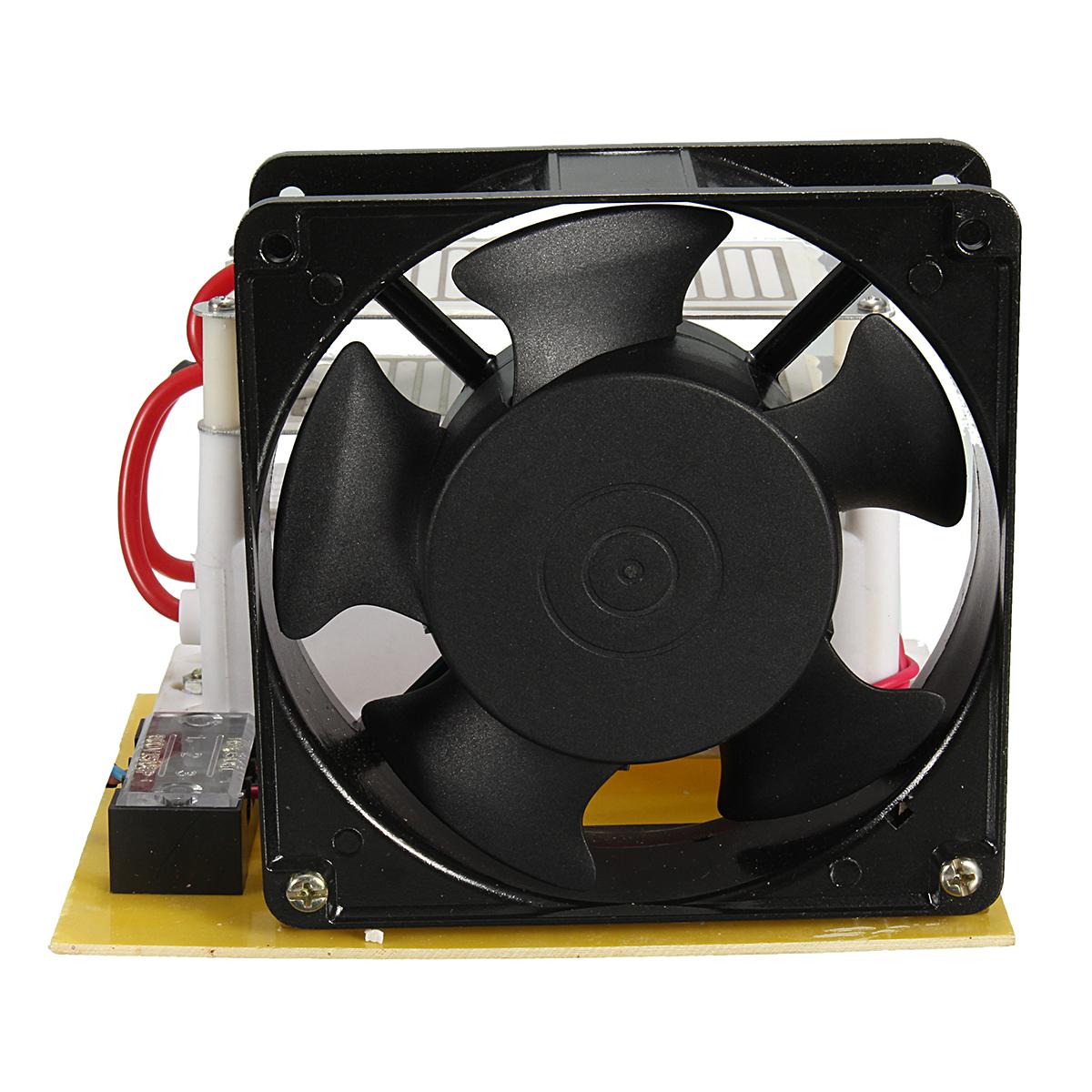 220V 10g/H Ozone Generator Ceramic Plate Sterilizer Fan Air Purifier Machine