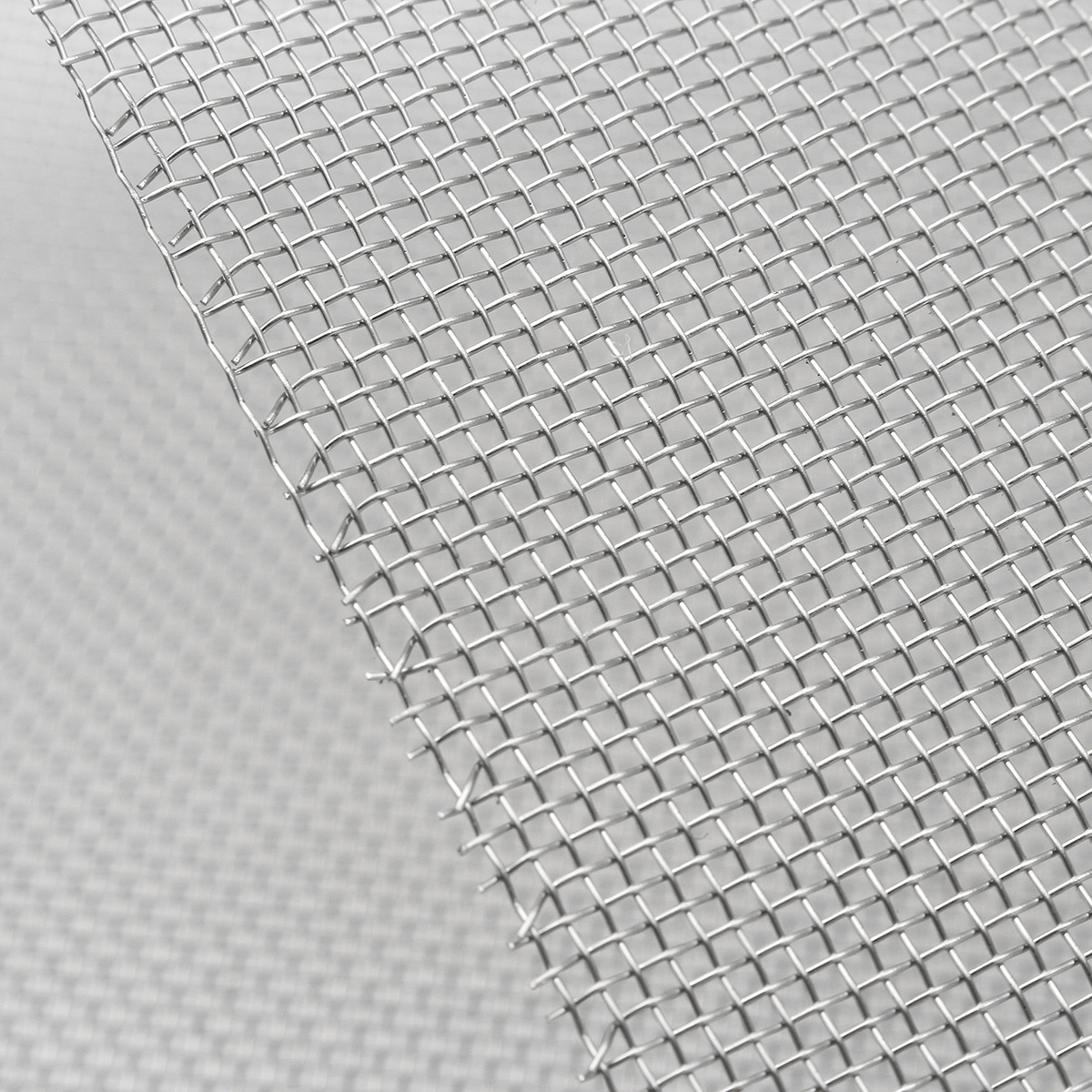 15x45cm Woven Wire Stainless Steel Filtration Grill Sheet Filter 20 Mesh