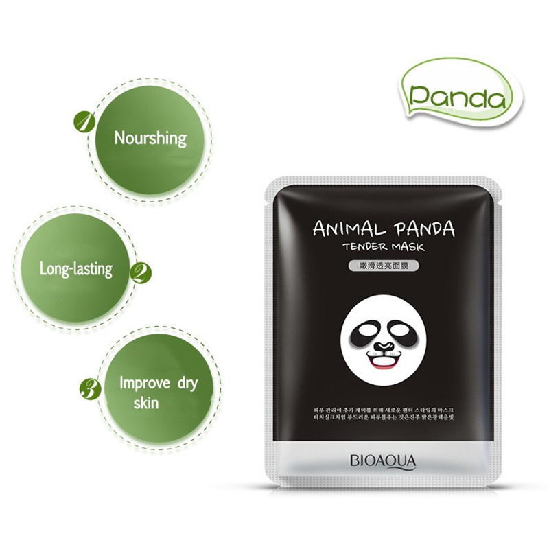 BIOAQUA Moisturizing Cute Animal Face Masks Skin Care Sheep Panda Dog Tiger Facial Mask
