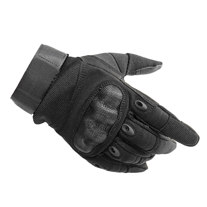 Hunting Tactical Gloves Outdoor Sports With Touch Screen Full Finger PU Leather Anti Skid