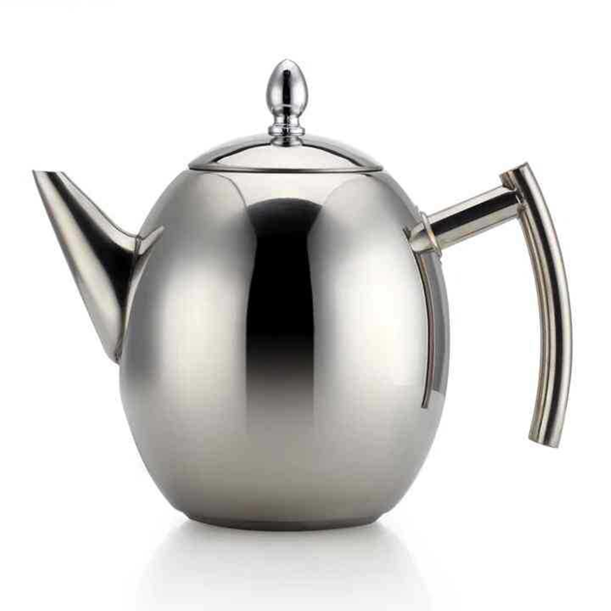 1L 1.5L Stainless Steel Coffee Pour Over Kettle Drip Tea Pot W/ Filter Strainer Coffee Tea Sets