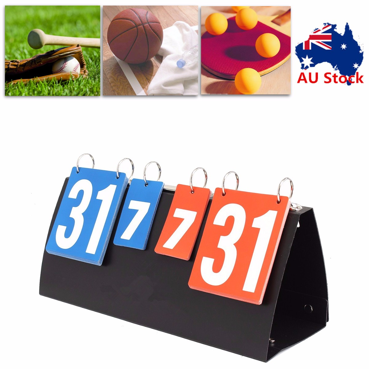 Scoreboard Flipper Portable Multi sports volleyball basketball table tennis football