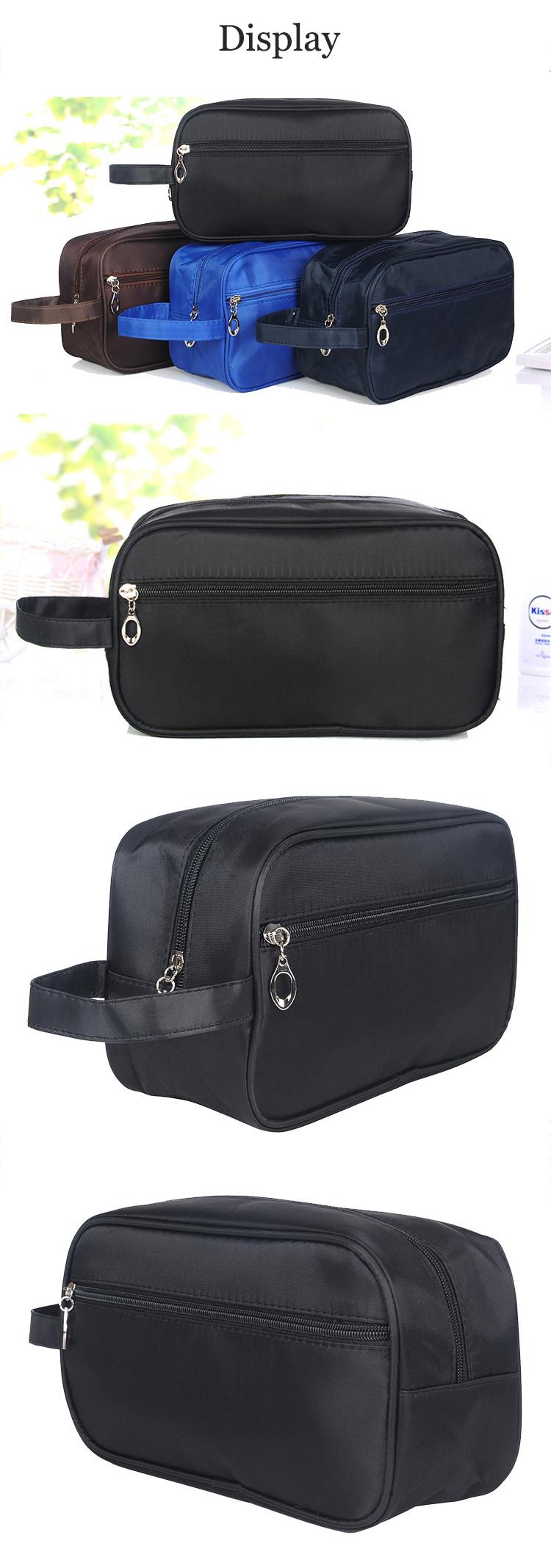 Honana HN-TB12 Waterproof Travel Toiletry Bag Large Nylon Shaving Cosmetics Kit Bag
