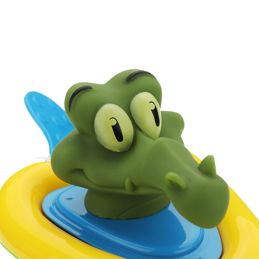 Cikoo Wind Up Bath Toy Pull Along Beach Play Toys Funny Amphibious Animal