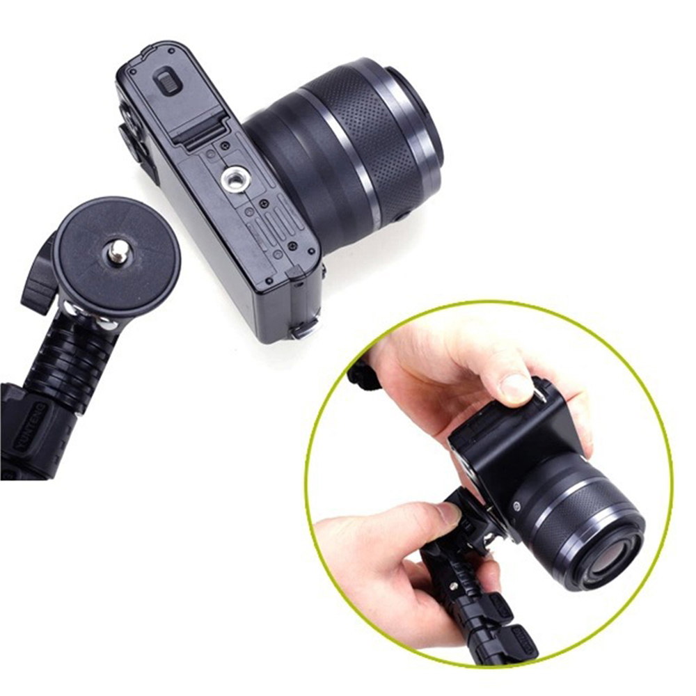 Yunteng 1288 Selfie Stick Handheld Monopod with Phone Holder and bluetooth Shutter for Camera Phone