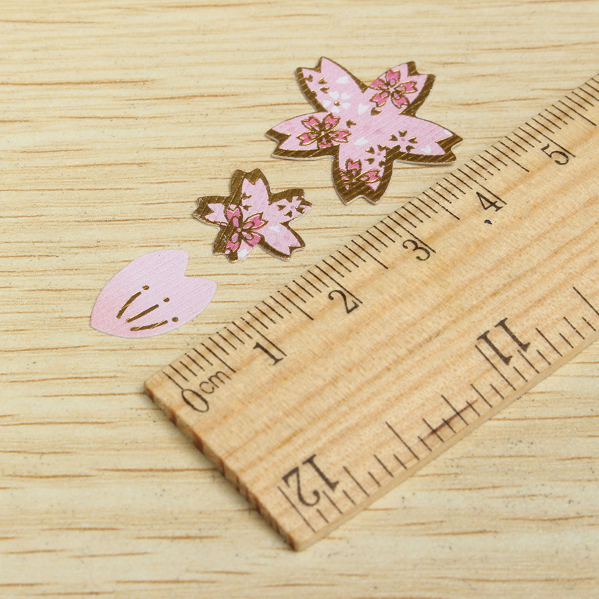 DIY Scrapbooking Paper Cherry Blossoms Diary Stickers Wedding Album Plum Flower Decoration