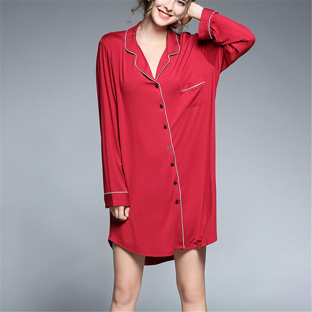 Plus Size Loose Soft V Neck Lapel Homewear