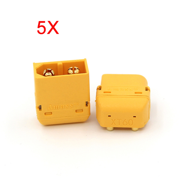 5X Amass XT60PW Plug Connector Male & Female For RC Battery