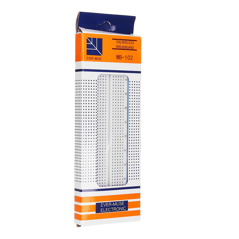 Test Develop DIY 830 Point Solderless PCB Breadboard For MB-102 MB102
