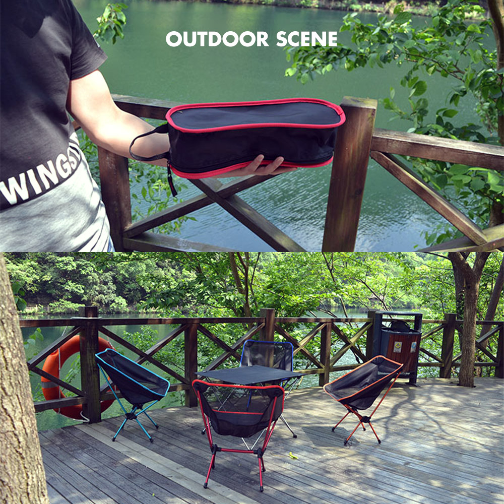 Xmund XD-FD1 Portable Folding Chair Ultralight Stool For Camping Fishing Picnic Max Load 100kg