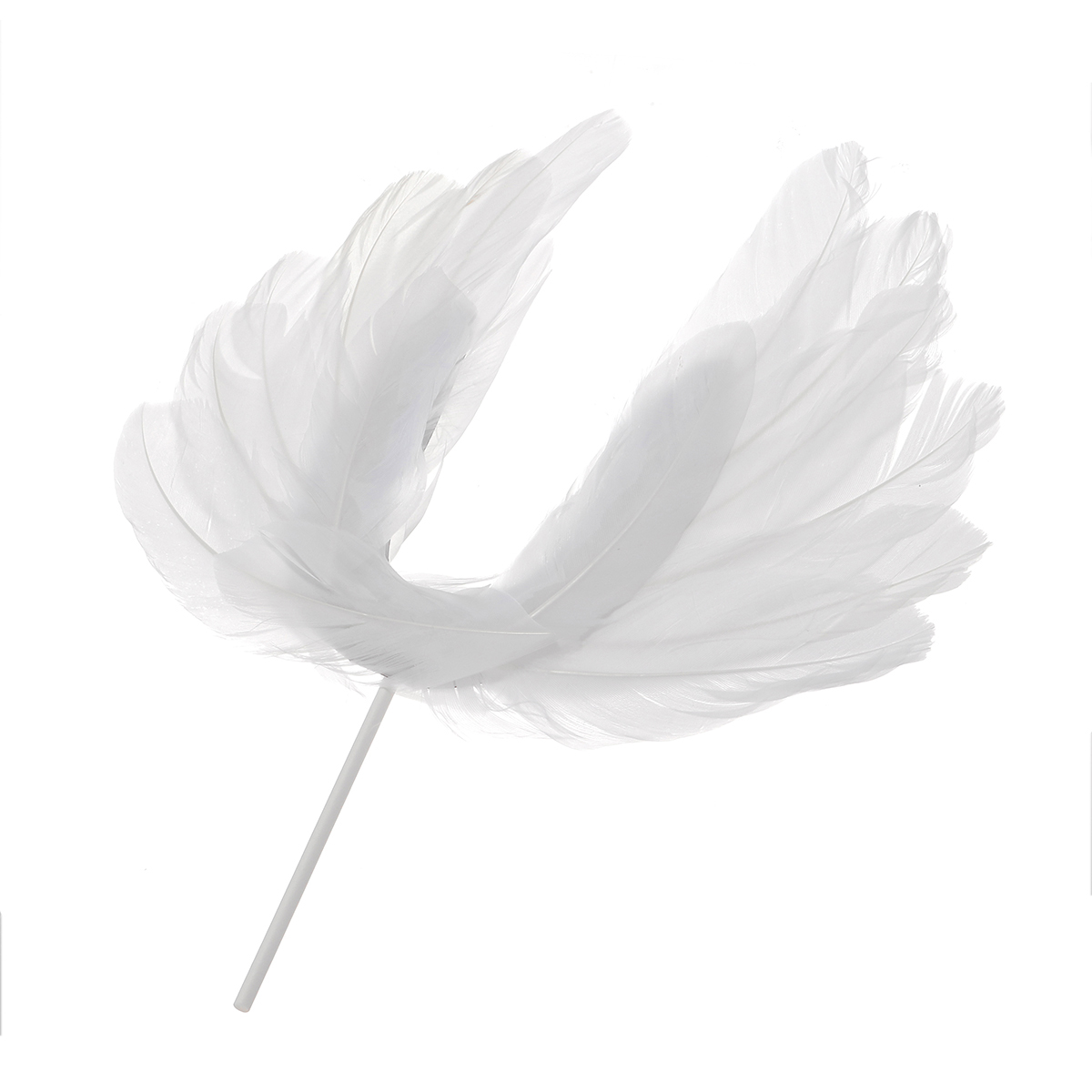 Angel Feather Wing DIY Cake Topper Decor Birthday Valentine's Day Party Romantic Cute Decorations