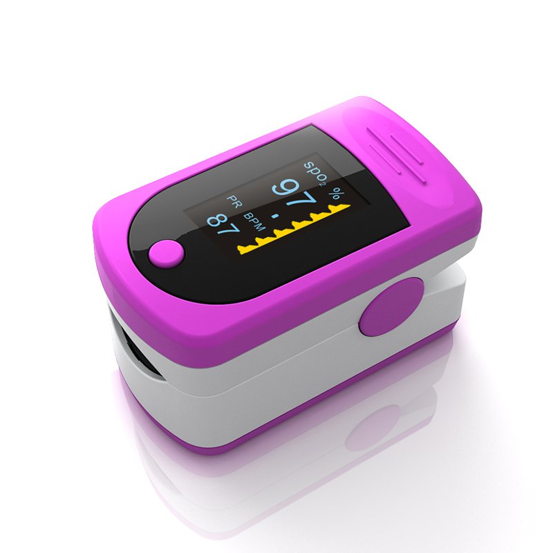 AS-301 OLED Portable Pulse Oximeter Blood SpO2 PR Heart Rate Monitor