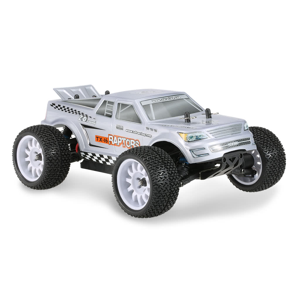 ZD TX-16 1/16 4WD 2.4G Off-road Truggy Brushless RTR RC Car - Photo: 6