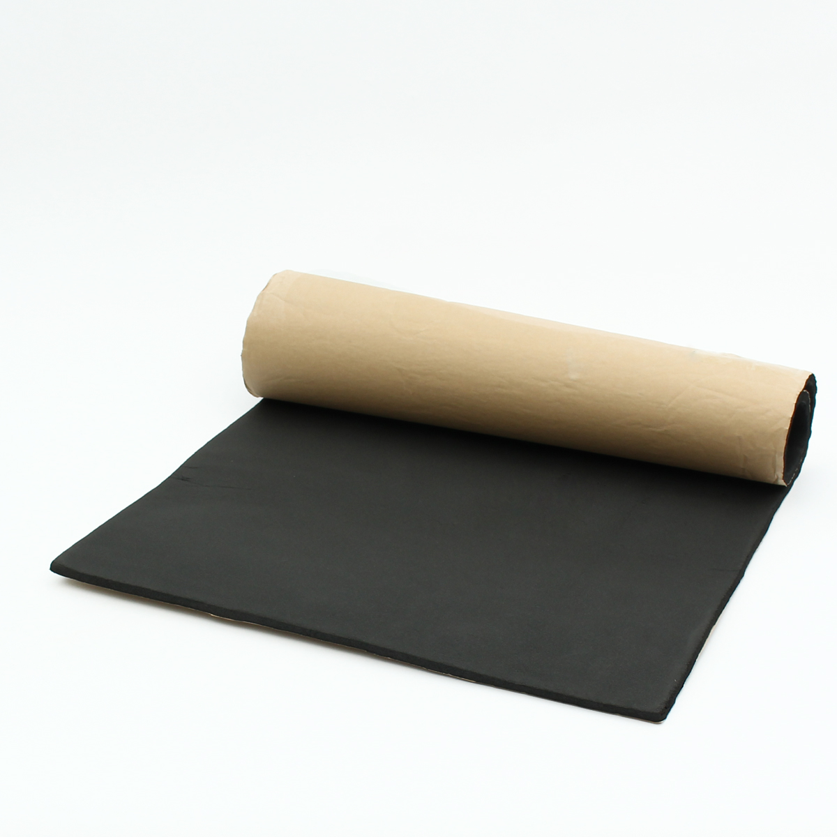 1 Roll 100 x 50cm Rubber Sound Proofing & Heat Insulation Sheet Vehicle Closed Cell Soundproof Foam