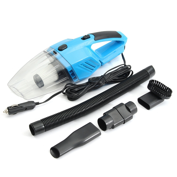 DC12V 120W Car Vacuum Cleaner Handheld Wet & Dry Dual Use Auto Cleaning Tool